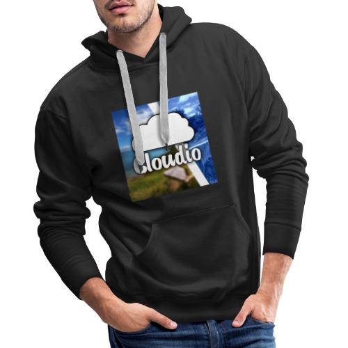 Cloudio - Logo - Männer Premium Hoodie