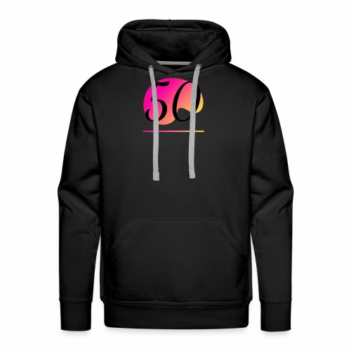 T-Shirt zum 50. Geburtstag Herren Emblem - Männer Premium Hoodie