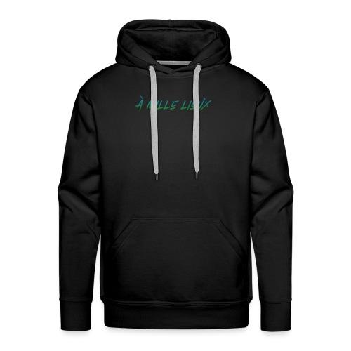 À mille lieux - Sweat-shirt à capuche Premium pour hommes
