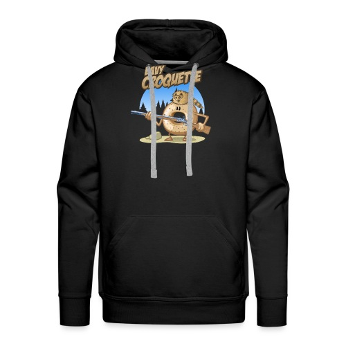 Davy croquette - Männer Premium Hoodie