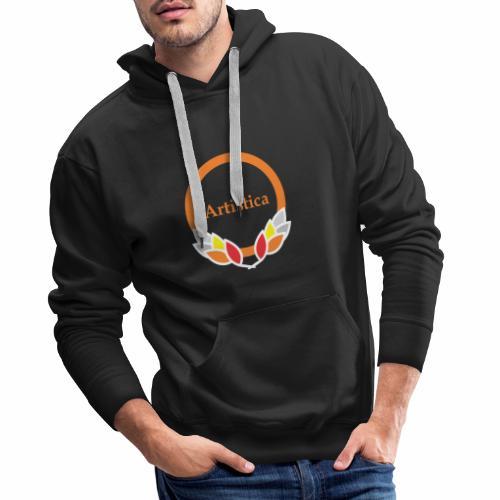 Artistica Kreis kühlen Rahmen - Männer Premium Hoodie