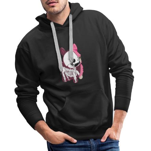 ALPAGA SKELL - Sweat-shirt à capuche Premium pour hommes