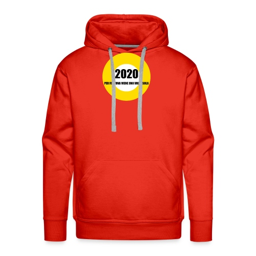 2020 - Felpa con cappuccio premium da uomo