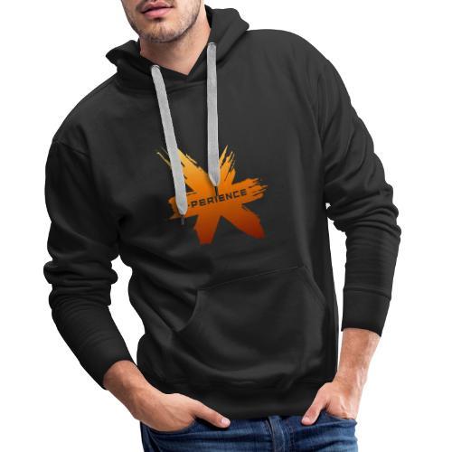 X-Perience Orange Logo - Männer Premium Hoodie