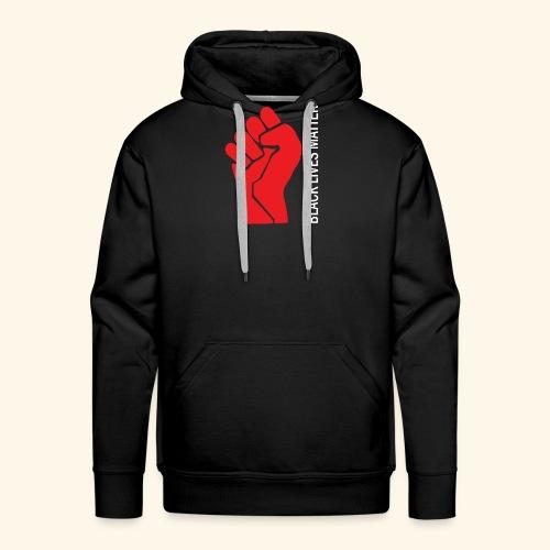 Black Lives Matter - Faust - Männer Premium Hoodie