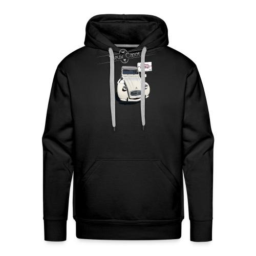 2CV Paris - Sweat-shirt à capuche Premium pour hommes
