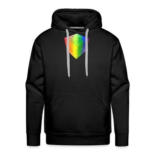 Pride Cube - Premium hettegenser for menn