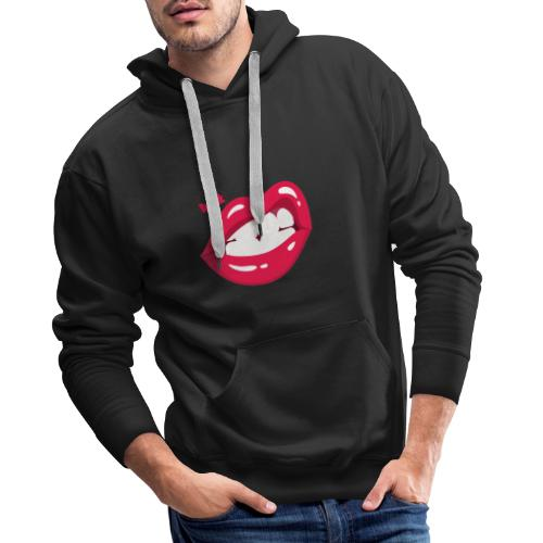 Lips 2020 - Sweat-shirt à capuche Premium pour hommes