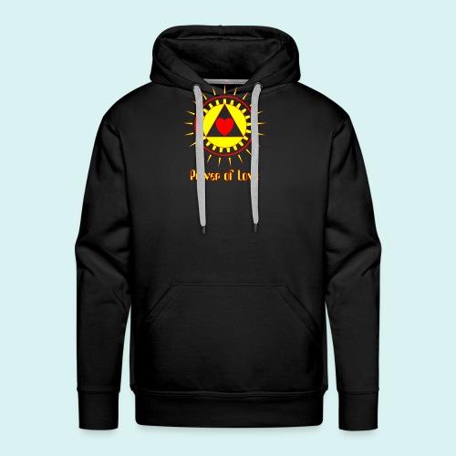 Power of Love - Sweat-shirt à capuche Premium pour hommes