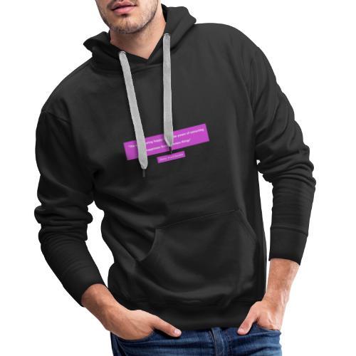 Design01 - Mannen Premium hoodie