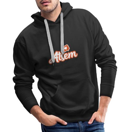 ATSEM - Sweat-shirt à capuche Premium pour hommes