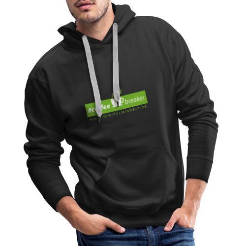 #coffeebreaker - Männer Premium Hoodie