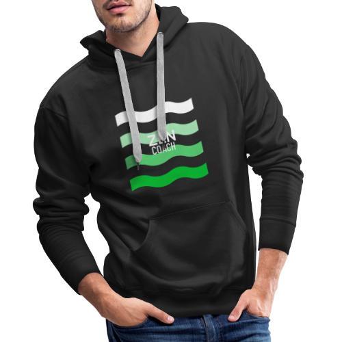 coach zen - Sweat-shirt à capuche Premium pour hommes