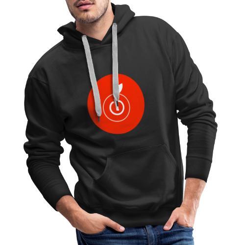 AppleZein Logo Natale - Felpa con cappuccio premium da uomo