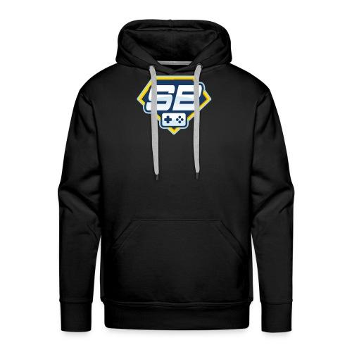 logo SuperBoki - Sweat-shirt à capuche Premium pour hommes