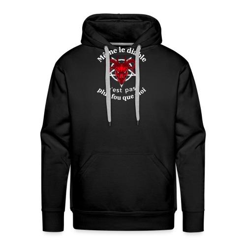 diable 666 - Sweat-shirt à capuche Premium pour hommes