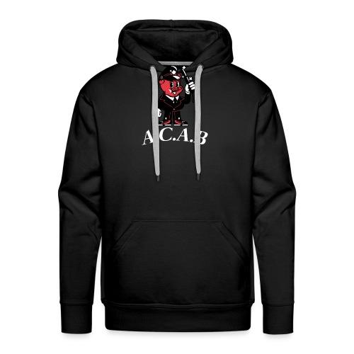 A.C.A.B - Sweat-shirt à capuche Premium pour hommes