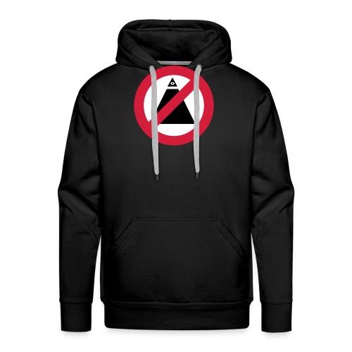 No-Illuminati - Sweat-shirt à capuche Premium pour hommes