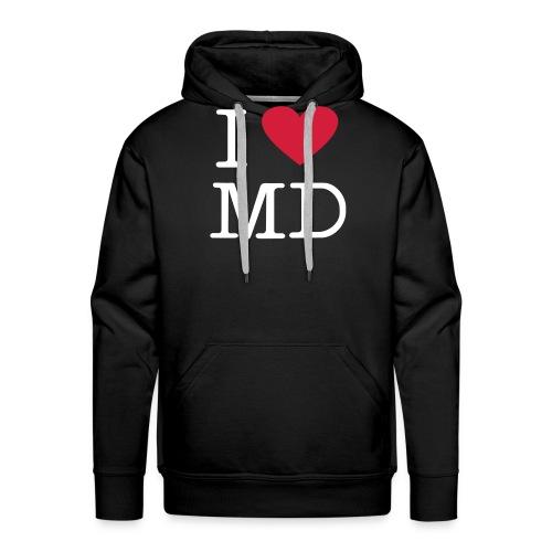 I Love MD - Männer Premium Hoodie
