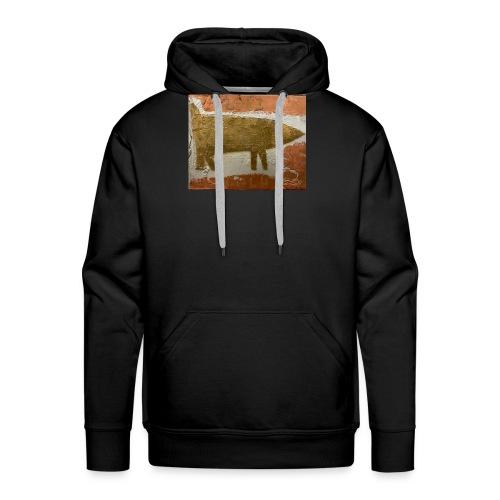 LOVE GOLD - Sweat-shirt à capuche Premium pour hommes