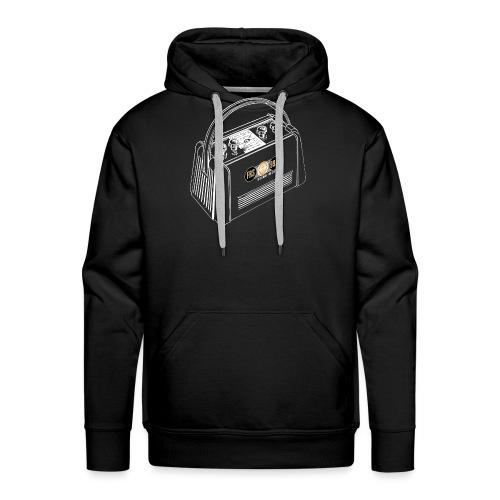 FRS Campingradio 02 weiss - Männer Premium Hoodie