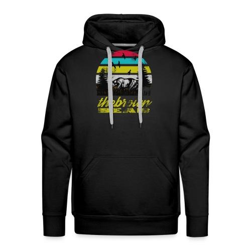 The Bear - Sweat-shirt à capuche Premium pour hommes