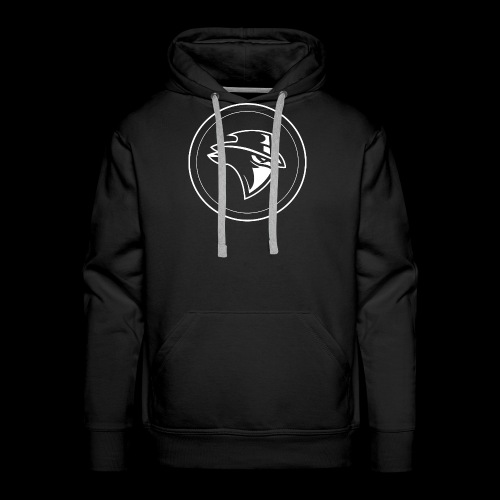 Circle Bandit - white - Men's Premium Hoodie