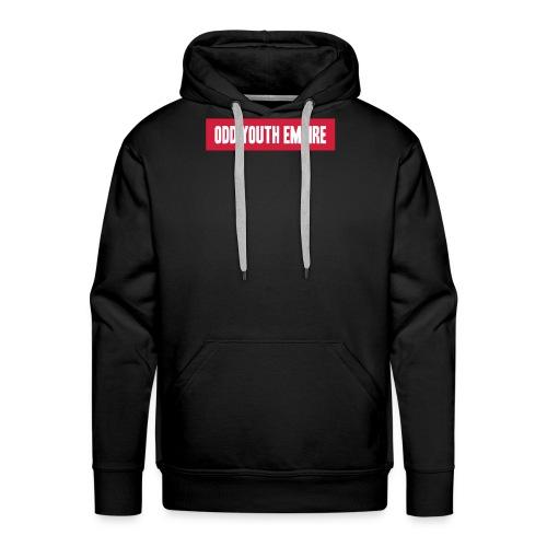 face logo textpng - Men's Premium Hoodie