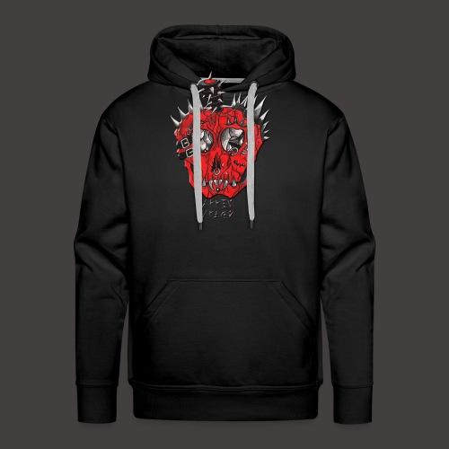 apple spike - Sweat-shirt à capuche Premium pour hommes