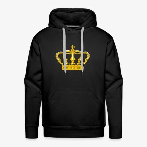 Crown Cross - Männer Premium Hoodie
