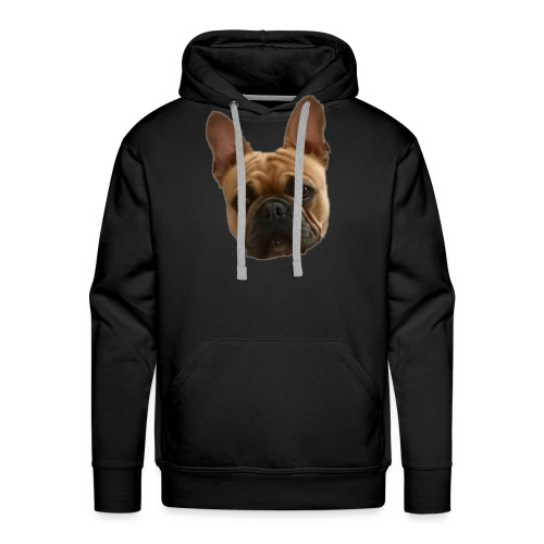 frenchie face - Men's Premium Hoodie