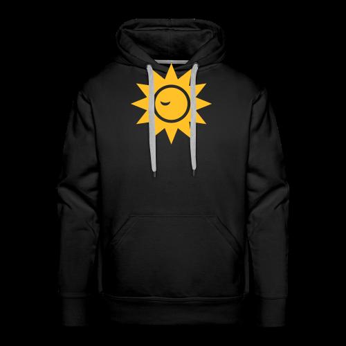 Winky Sun - Mannen Premium hoodie