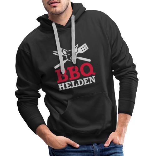 logo diap klein - Mannen Premium hoodie