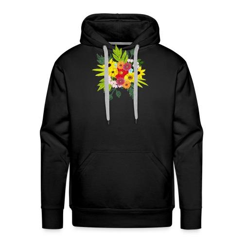 Flower_arragenment - Men's Premium Hoodie