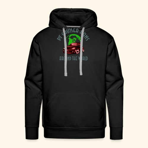 pt cruiser around the world2 red - Männer Premium Hoodie