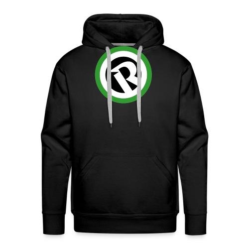 Logo Reborn Green Flat - Men's Premium Hoodie