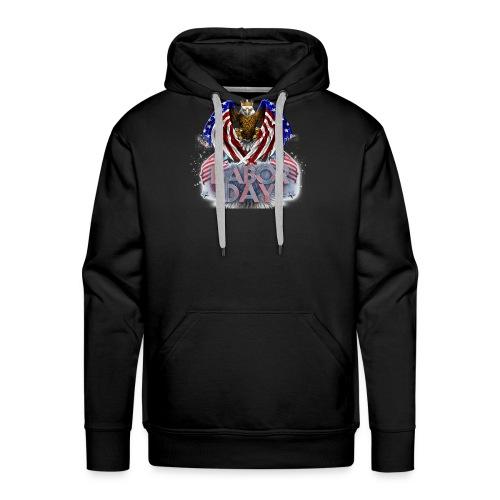 Aigle américain - Sweat-shirt à capuche Premium pour hommes
