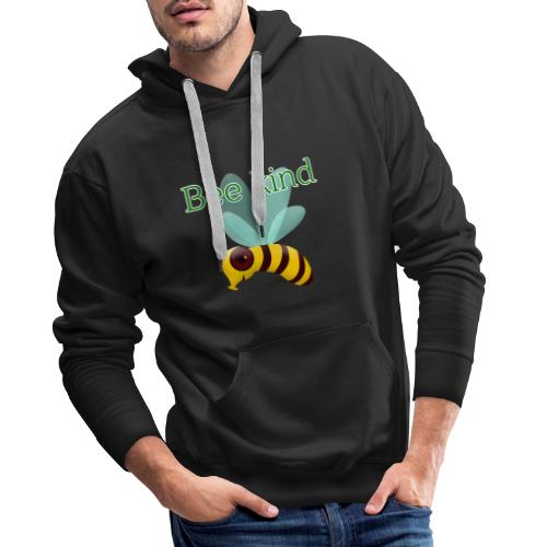 Bee kind - Men's Premium Hoodie