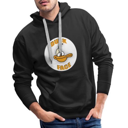 Duck Face - Sweat-shirt à capuche Premium pour hommes