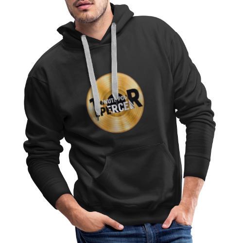 1 MINUTE POUR PERCER OFFICIEL - Sweat-shirt à capuche Premium pour hommes