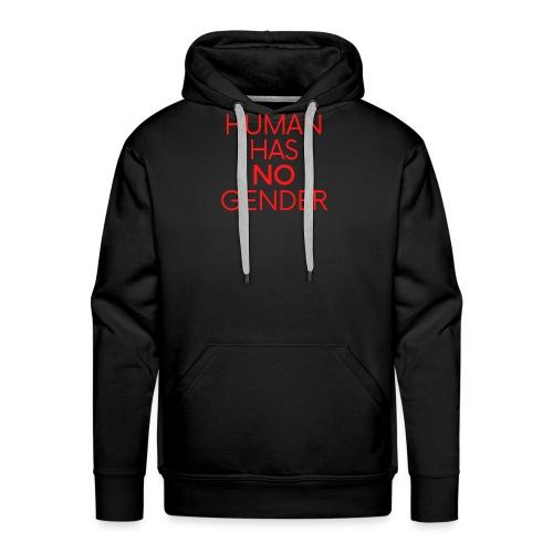 human has no gender 7 - Men's Premium Hoodie