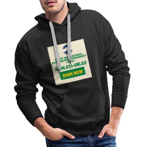 start unconditional basic incomes - Mannen Premium hoodie