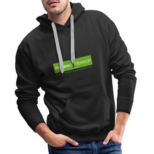#videoconferencer - Männer Premium Hoodie