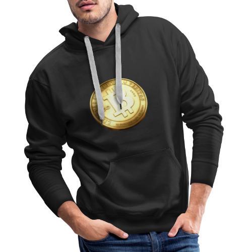 Bitcoin - Premiumluvtröja herr