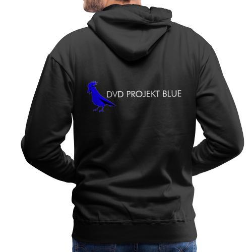 DVD Projekt Blue - Bluza męska Premium z kapturem