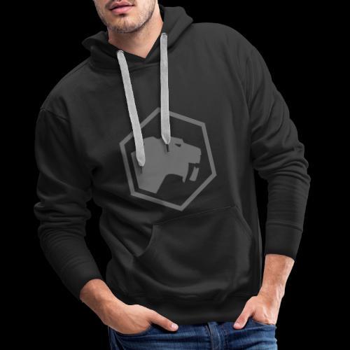 Tysk Bildmarke Brust - Männer Premium Hoodie