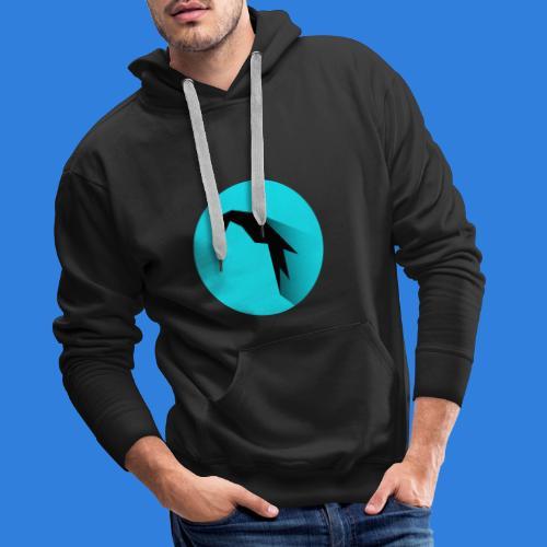 Parrot Logo + Prompt - Men's Premium Hoodie