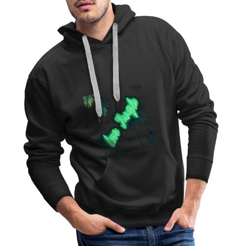 Love Jungle / Amour sauvage - Sweat-shirt à capuche Premium pour hommes