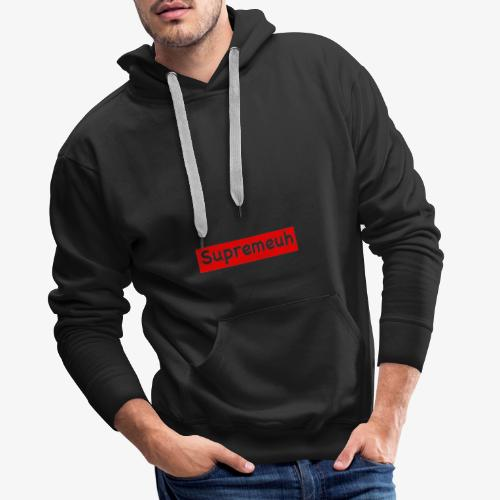 Marque alternatif Supremeuh - Sweat-shirt à capuche Premium pour hommes