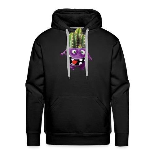 Monster_Lila - Männer Premium Hoodie
